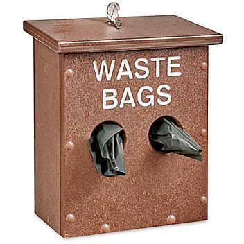 """Uline Dog Waste System Dispenser - 9 x 5 x 12"""" H-5943"""