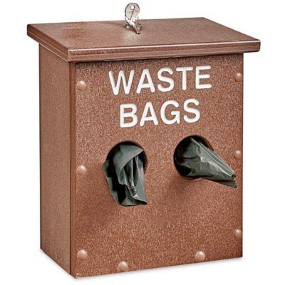 Uline Dog Waste System Dispenser - 9 x 5 x 12