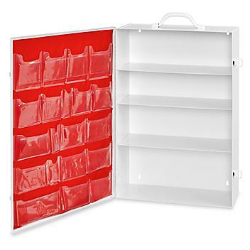 Uline First Aid Cabinets - 4 Shelf H-5952