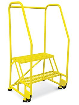 2 Step Tilt and Roll Ladder - Yellow H-6069Y