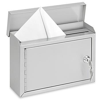 """Outdoor Standard Drop Box - 10 x 3 x 7"""" H-6077"""