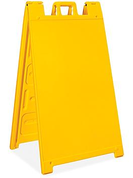 Plastic A-Frame Sign - Yellow H-6104Y