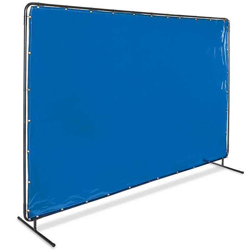 Welding Screen - 6 x 10', Blue H-6124BLU