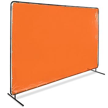 Welding Screen - 6 x 10', Orange H-6124O
