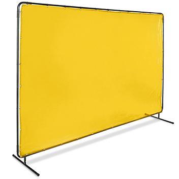 Welding Screen - 6 x 10', Yellow H-6124Y
