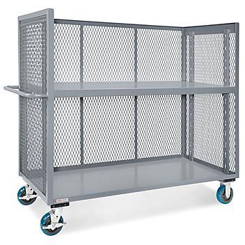 """Welded Stock Picker Cart - 60 x 30 x 58"""" H-6126"""