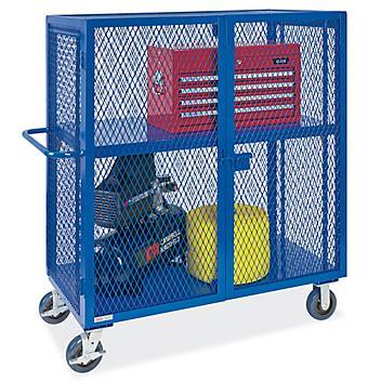 "Welded Security Cart - 48 x 24 x 58"""