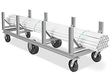 """Bar and Pipe Cradle Truck - 3"""" Channel Steel H-6186"""