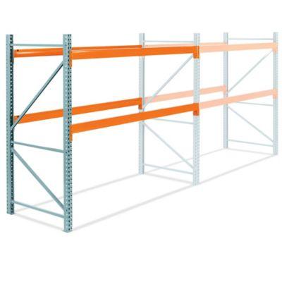 Add-On Unit for 2 Shelf Pallet Rack - 108 x 48 x 96