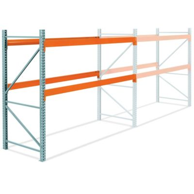 Add-On Unit for 2 Shelf Pallet Rack - 120 x 48 x 96