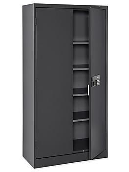 """Electronic Storage Cabinet - 36 x 18 x 72"""", Black H-6312BL"""