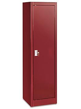 """Slim Storage Cabinet - 18 x 18 x 66"""", Unassembled, Wine H-6316WINE"""