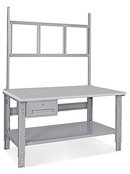 """Deluxe Workstation Starter Table - 60 x 30"""", Laminate H-6341-LAM"""
