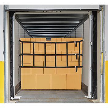 "LiftAll® E-Track Cargo Net - 5,000 lb Capacity, 42"" x 10' H-6356"