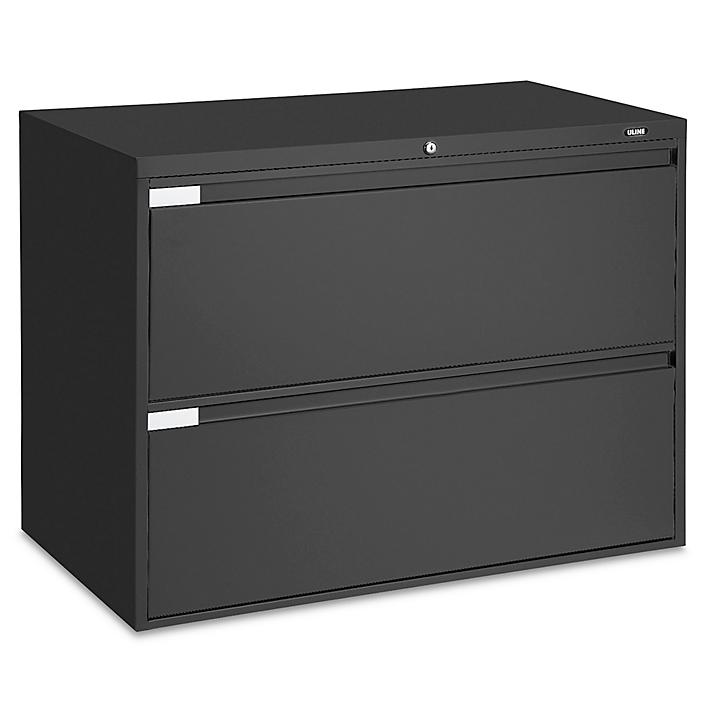 """Lateral File Cabinet - 42"""" Wide, 2 Drawer"""
