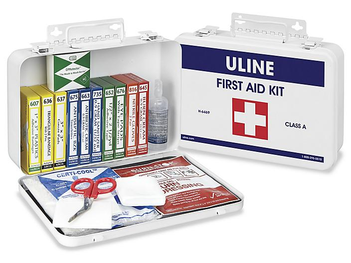 Uline ANSI Approved First Aid Kit - Class A, 25 person H-6469