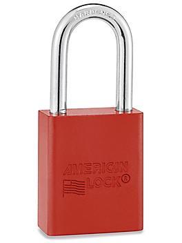 Aluminum Lockout Padlocks - Keyed Alike