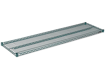 "Additional Epoxy Wire Shelves - 72 x 18"""