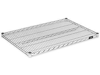 """Additional Epoxy Wire Shelves - 36 x 24"""", Zinc H-6780Z"""