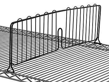 "Shelf Dividers - 30 x 8"", Black H-6792BL"