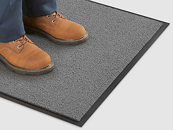 Deluxe Carpet Mat - 3 x 6', Gray H-682GR
