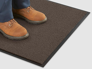 Deluxe Carpet Mat - 4 x 6', Brown H-684BR