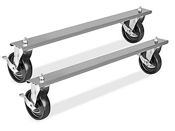 """Casters for 36"""" and 48"""" Industrial Packing Tables - Set of 4 H-6885"""