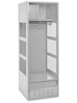 """Open Gear Locker - 1 Wide, Unassembled, 24"""" Wide, 24"""" Deep"""
