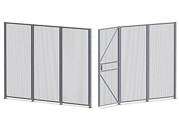 Wire Security Room - 12 x 12 x 8', 2-Sided H-7067-2