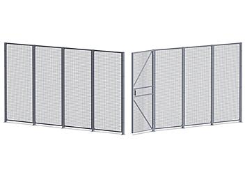 Wire Security Room - 16 x 16 x 8', 2-Sided H-7068-2
