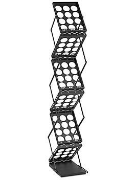 Tradeshow Literature Rack - Black H-7085BL