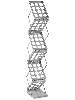 Tradeshow Literature Rack - Silver H-7085SIL
