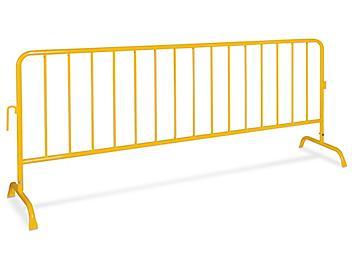 Portable Safety Barrier - Powder Coated, Bridge Feet H-7087