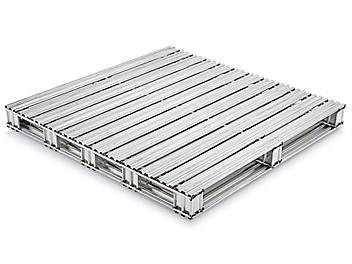 """Galvanized Steel Pallet - 48 x 48"""" H-7124"""