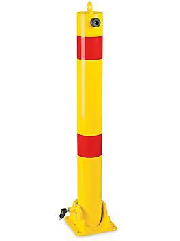 """Fold-Down Safety Bollard - 4 1/2 x 42"""" H-7172"""