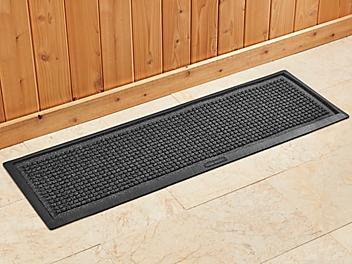"Waterhog™ Boot Tray - 15 x 48"", Charcoal H-7201GR"