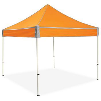 Hi-Vis Aluminum Frame Canopy - 10 x 10', Orange H-7230O