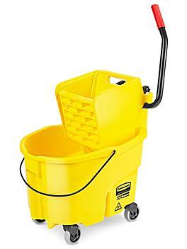 Rubbermaid® WaveBrake® Bucket/Wringer - Side Press, 26 Quart H-7400
