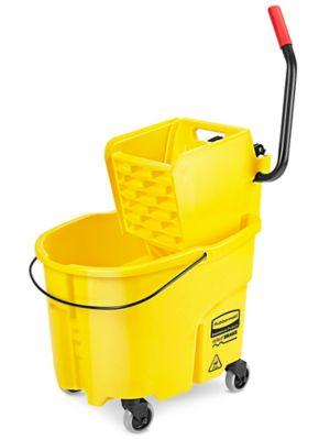 Rubbermaid® WaveBrake® Bucket/Wringer - Side Press, 35 Quart, Yellow