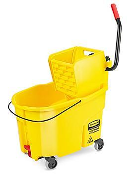 Rubbermaid® WaveBrake® Bucket/Wringer - Side Press, 44 Quart H-7402