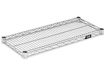 """Additional Chrome Wire Shelves - 30 x 12"""" H-7474C"""