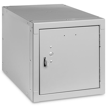 "Stackable Cube Locker - 12 x 18 x 12"", Gray H-7588GR"