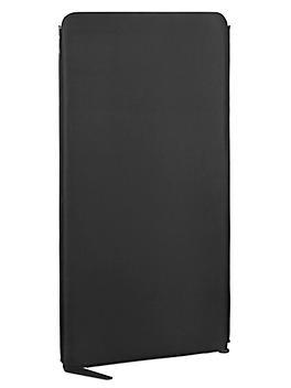 "Zippered Office Panel - 30 x 60"", Black H-7590BL"