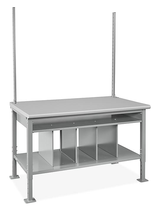 """Packing Station Starter Table - 60 x 36"""", Laminate Top H-7630-LAM"""