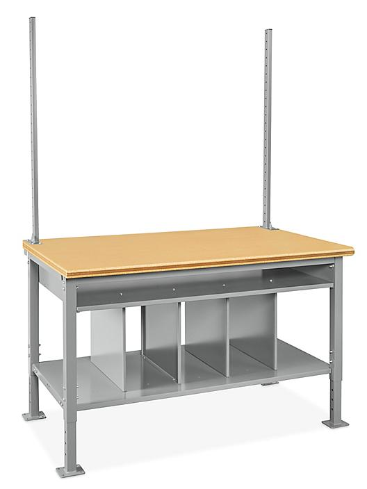 """Packing Station Starter Table - 60 x 36"""", Composite Wood Top H-7630-WOOD"""
