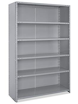"""Closed Industrial Steel Shelving - 48 x 18 x 75"""" H-7679"""