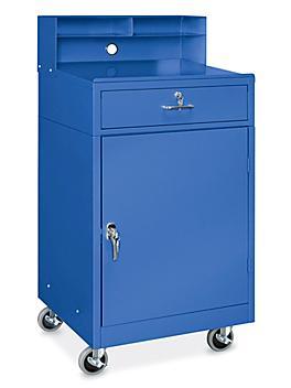 "Mobile Shop Desk - 24 1/4 x 23"", Blue H-7699BLU"