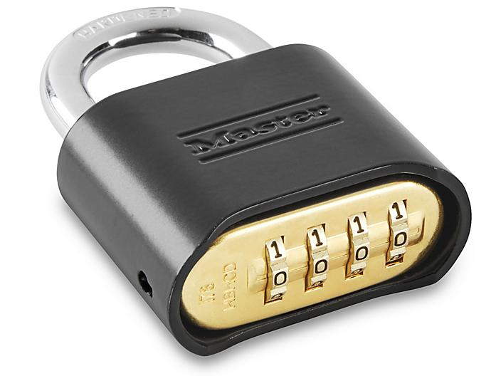 """Resettable Combo Padlock - 1"""" Shackle H-7801"""