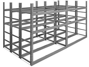 """Horizontal Bar Rack - 56 x 120 x 60"""" H-7837"""
