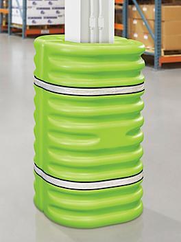 "Column Protector - 10"", Lime Green H-7885"